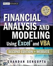 Financial Analysis And Modeling Using Excel And Vba 2Nd Edition Int'L Edition