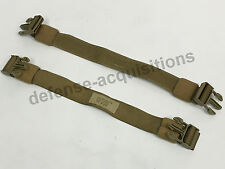 US Military Allied Industries MBSS Adapter Kit RRV Back Plate Straps Set COYOTE