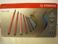 PENNARELLI STABILO POINT PEN 68 40 COLORI