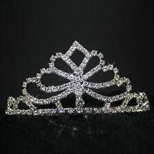 rhinestone Tiara Tiara Silver Bridal jewelry Wedding Bollywood Hairband 9