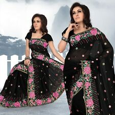 Bollywood Women's Indian Ethnic Designer Georgette Party Wear Saree(324)