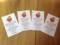Personalised Forget Me Not Seed Pack Teacher Nursery Pre School Thank You Gift