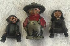 Vintage Cast Iron Amish Boy & Girl Figure for Seesaw (Teeter Totter) Original