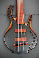 "Mike Browne 6 string fretless 36"" Scale Carl Thompson Pete Hilton Cliff Bordwell"