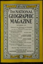 National Geographic magazine November 1953 Fishing in the Whirlpool of Charybdis