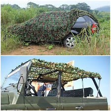 4m X 1.5m Oxford Fabric Camouflage Net/Camo Netting Hunting/Shooting Hide Army