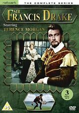 Sir Francis Drake: Complete Series - DVD NEW & SEALED (3 Discs) - Terence Morgan