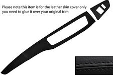 BLACK STITCH TWO PIECE DASH KIT LEATHER COVERS FITS MITSUBISHI LANCER EVO 7 8 9