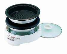 Tiger Corporation CPK-D13U W Electric Grill Pan with 2-Way Style Pans JAPAN
