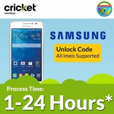 Unlock code Network PIN Samsung Galaxy S3 S4 S5 S6 Prime Fame Cricket Wireless