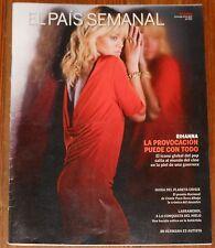 EL PAIS SEMANAL 2012 Rihanna spanish magazine revista