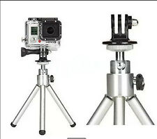 Free Tripod Monopod Mount Adapter For GoPro HD HERO 1 2 3 4 Camera Accessories