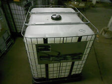 IBC  275 gallon Liquid Storage Tote Non Food Grade plastic container with valve