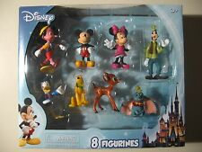 Disney: Mickey Mouse & Friends 8 Figurines, Brand New & Sealed