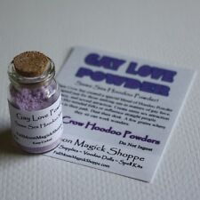 Gay Love Powder Hoodoo Same Sex Ritual Homosexual Lesbian Romance Corked Bottle