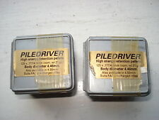 2 x Prometheus PILEDRIVER .177 hunting air rifle pellet
