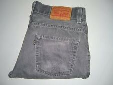 Para Hombre Levi's Strauss & Co. 511 gris descolorido Slim Fit Denim de Superdry W32 L30