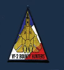 VF-2 BOUNTY HUNTERS GRUMMAN F-14 TOMCAT TRIANGLE US Navy Fighter Squadron Patch