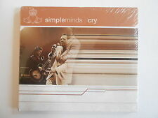 SIMPLE MINDS : CRY - LEAD THE BLIND - HOMOSAPIEN ... [ CD PROMO ] ~ PORT GRATUIT
