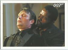 James Bond Archives 2014 - 055 Casino Royale Gold Parallel Card #119/125