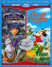 ADVENTURES OF ICHABOD AND MR. TOAD/FUN AND FANCY FREE NEW BLU-RAY/DVD