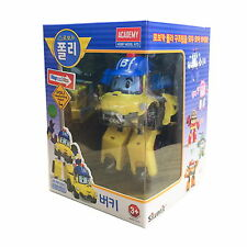 Robocar Poli BUCKY Transformer Robot Buggy Car Toy Action Figure Korea Animation