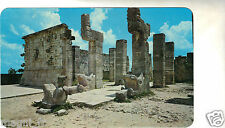 Mexique - The Chac-Mool in front of the Warrior's Temple -CHICHEN ITZA - YUCATAN