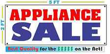 APPLIANCE SALE Banner Sign Dish Washer Dryer Stove Refrigerator Oven Microwave