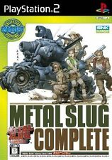 Used PS2 Metal Slug Complete SNK Best Collection  SONY PLAYSTATION JAPAN IMPORT