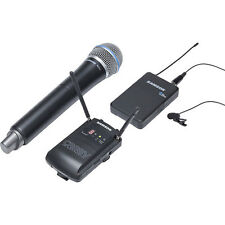 Samson Concert 88 Camera Handheld Combo UHF Wireless Mic System-  Frequency K