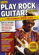 Guitar World Juego Rock Guitarra Aprende A Tocar Heavy Metal Thrash Music Dvd