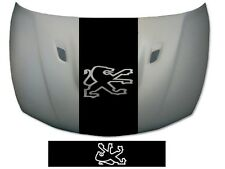 PEUGEOT BONNET STRIPE 106 107 205 206 207 208 307 308 GRAPHICS DECALS STICKERS