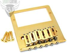 NEW! Gotoh 6-Saddle HUMBUCKER TELE Bridge For Telecaster Humbucking - GOLD