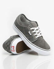 VANS CHUKKA LOW CHECKERS GREY WHITE SZ MENS 10 28 CM SHOES SKATE SK8 HI NEW NIB