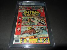 BATMAN FAMILY 6 PGX (CGC) 6.5 Fine+ 1st Appearance Joker's Daughter (DC 1976)