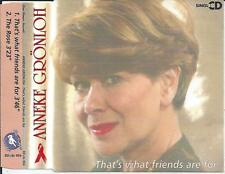 Anneke Grönloh - That's what friends are for CD SINGLE 2TR (Dionne Warwick) 1993