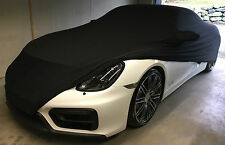 indoor Car Cover Schutz Hülle f. Porsche 911 991 GTS Turbo 997 GT3 schwarz Soft