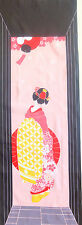 Japanese Tenugui Cotton Cloth Towel handkerchief Kimono Girl in the Alley TB134