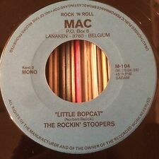 "THE ROCKIN' STOOPERS LITTLE BOPCAT MAC RECORDS ROCKABILLY 7"""