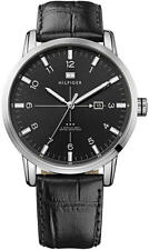 Men's Tommy Hilfiger George Leather Strap Watch 1710330