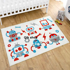Nursery RUG KIT FOR KIDS Nursery TAPPETO Lussuoso Morbido Anti Scivolo Supporto 150 x 100 cm