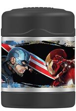Thermos 10 Ounce Funtainer Food Jar, Iron Man  CAPTAIN AMERICA CIVIL WAR NEW