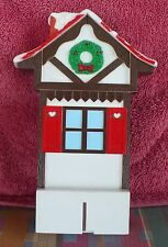 1992 MR CHRISTMAS SANTA'S SKI SLOPE PART UPPER SKI HOUSE