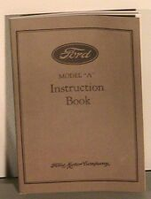 1928 1929 1930 1931 Model A Ford Owners Manual