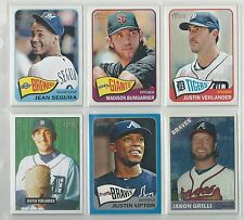 2014 Topps Heritage Ad Panel Promo - Trout Cabrera Mauer Viciedo Hochevar
