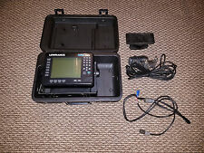 Lowrance X70A 3D Fish Finder, Transducer, Power Cable, swivel mount and case