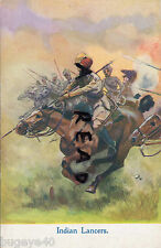 WW1 Military Ludgate Series  No 587 Indian Lancers Indian Army Cavalry