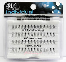 (LOT OF 10) Ardell Duralash NATURALS Flare MEDIUM Individual Lash Flair Eyelash