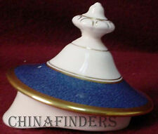 COALPORT china ATHLONE BLUE pattern Lid for Teapot - LID ONLY