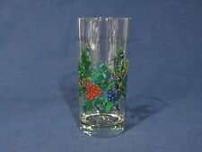 "Portmeirion ""The Holly and the Ivy"" Cooler / Glass - 7 5/8"" - Excellent"
